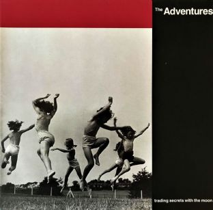 Adventures (The) ‎- Trading Secrets With The Moon (LP) (EX/VG-)